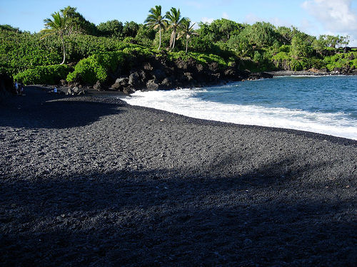 Image result for white and black sand beaches grenada
